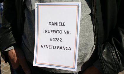 I truffati irriducibili davanti all'ex Veneto Banca