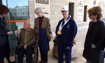 Simone Basso porta l'oro a Montebelluna