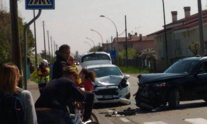 Grave incidente a Trevignano, bimbo portato via con l'elisoccorso