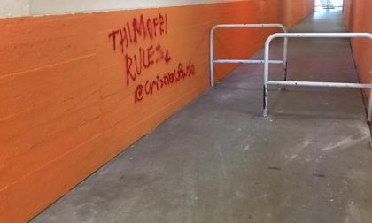 Borgo Pieve, sottopasso preso di mira dai vandali