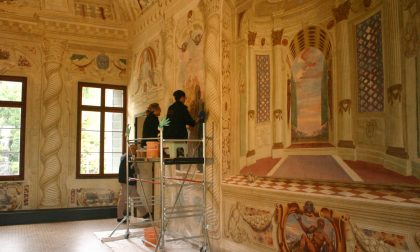"""""""Nuove"""" Sale affrescate in Villa Pisani"""