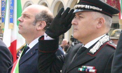 """Il sindaco Favero: """"Grazie comandante"""""""