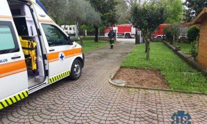 Incendio in casa ad Asolo, uomo di 74 anni in ospedale