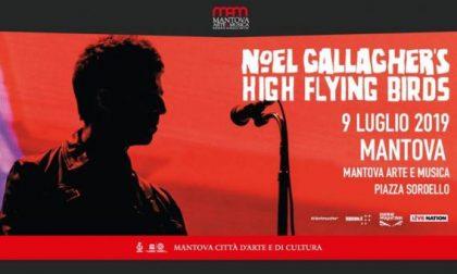 Noel Gallagher e Ben Harper a Mantova luglio 2019