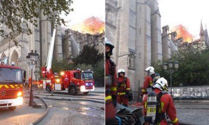 I vigili del fuoco di Treviso vicini ai colleghi francesi (Video)