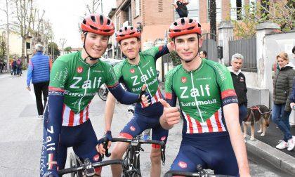 Ciclismo, Zalf a Codognè e a Valdarno