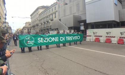 Gli Alpini di Treviso all'Adunata di Milano VIDEO