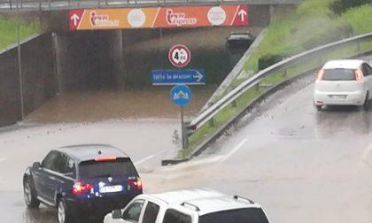 Le vie di Castelfranco trasformate in un enorme fiume