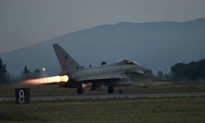 Eurofighter intercetta velivolo diretto a Baden-Baden