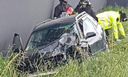 Frontale a Castelfranco, due feriti
