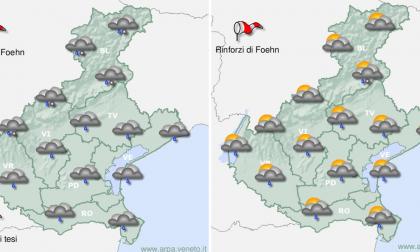 Meteo Veneto che tempo farà questa settimana?