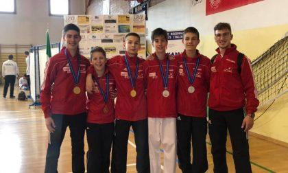 Sabato di medaglie per Germinal Sport Castelfranco