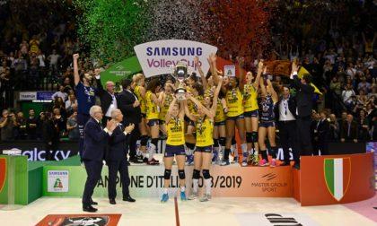 Conegliano, terzo titolo italiano