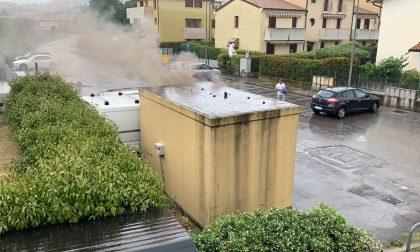 Fulmine sulla centrale Enel di Asolo, seri i danni