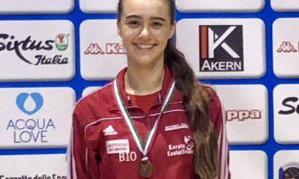 Karate, due bronzi ai campionati italiani per i castellani