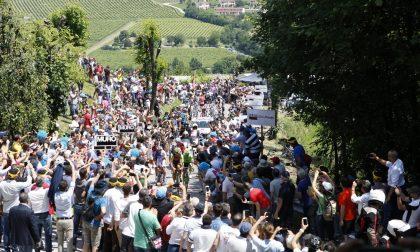 Il Giro d'Italia e Ca' del Poggio pedalano per i territori colpiti dalla tempesta Vaia