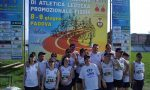 Campionati di atletica Fisdir, la Oltre Asd Onlus festeggia ottimi risultati