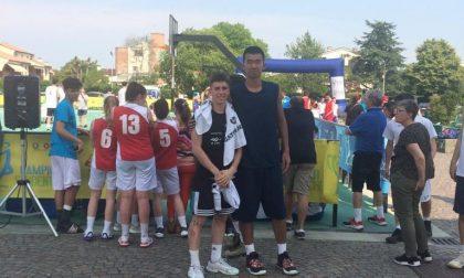 Giordano Durante campione italiano di basket