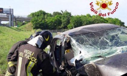 Incidente in autostrada, due donne ferite