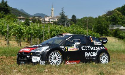 Rally Marca, Pedersoli conquista la prima prova sul Cesen