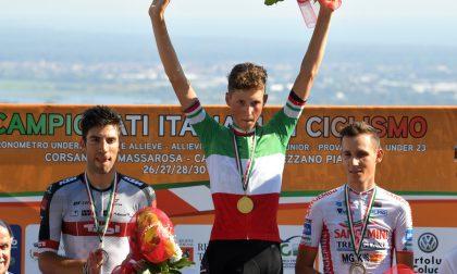 Corsanico: Marco Frigo, un tricolore da 100 e lode