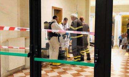 Treviso, busta sospetta, profilassi per sette persone