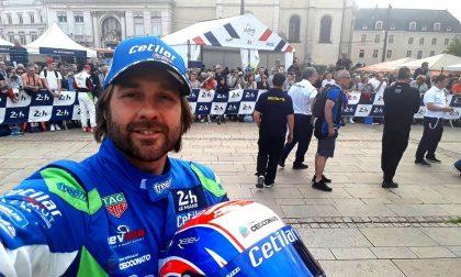 Con Giorgio Sernagiotto alla 24 Ore di Le Mans