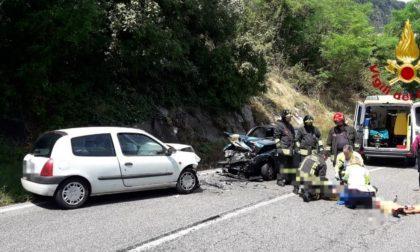 Frontale a Vittorio Veneto, tre feriti