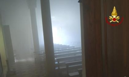 Esplosione nella sacrestia, nessun ferito