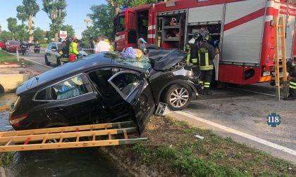 Ancora un incidente a Signoressa, ferite madre e figlia di 10 anni