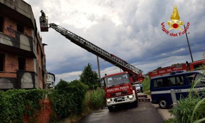 Maltempo, oltre 200 richieste di soccorso per i vigili del fuoco