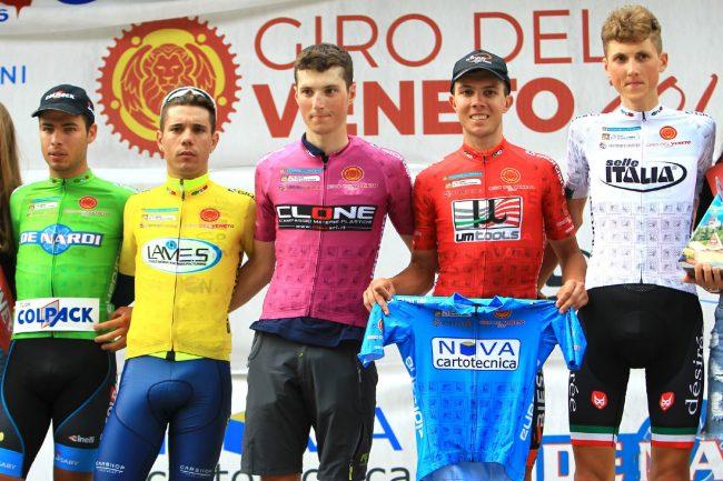 Giro del Veneto: Zalf Fior ancora sul podio