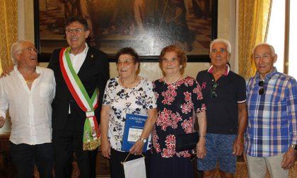 Quattro generazioni di Beraldo ricevute in Municipio