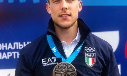 Mattia Busato di bronzo a Minsk