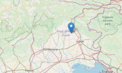 Sciame sismico in Friuli, la gente in strada