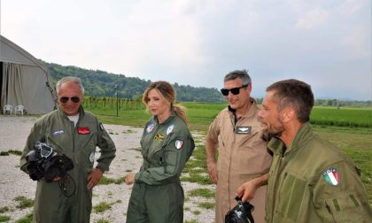 Lorella Cuccarini a Nervesa dal Pilota Zanardo
