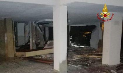Paura a Bibione: esplosa una palazzina in centro