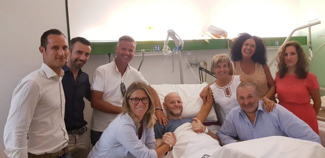 Incidente motocross: tutta la Giunta al capezzale del consigliere Soligo