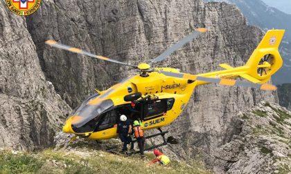 Alpinista 53enne perde la vita sul monte Schiara