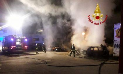 Incendio auto stanotte a San Biagio di Callalta