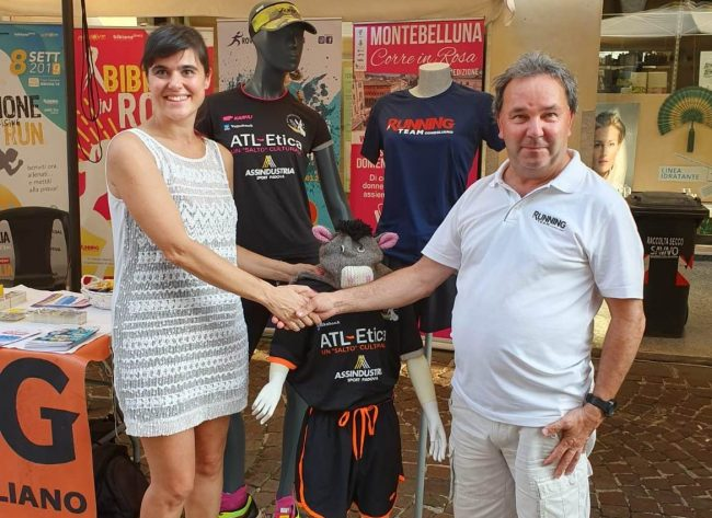 Di corsa insieme, nasce la partnership tra Atl-Etica e Running Team