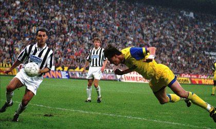 Dino Baggio in campo per il Tempio del Donatore
