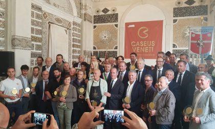 Caseus Veneti premia le eccellenze casearie di tutta Italia