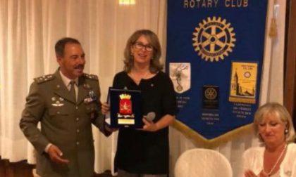 Il generale Salvatore Farina ospite al Rotary