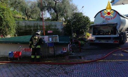 Perdita di gas durante il travaso dal benzinaio