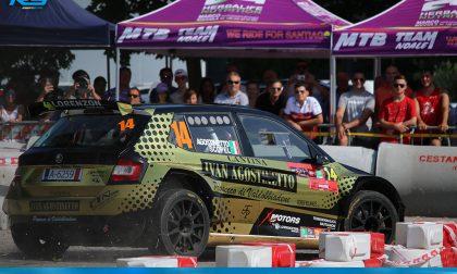 """Rally, Top ten per la """"strana coppia"""" a Scorzè"""
