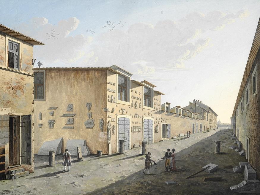 Asolo Presta Il Quadro Di Roberto Roberti A Palazzo Braschi Di Roma Prima Treviso