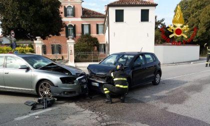 Incidente stradale a Castagnole di Paese: due feriti