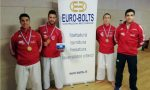 Karate Castelfranco, la squadra maschile Senior dello Sport Target è d'oro
