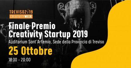 """Oggi a Treviso la finalissima del """"Premio Creativity Startup"""""""
